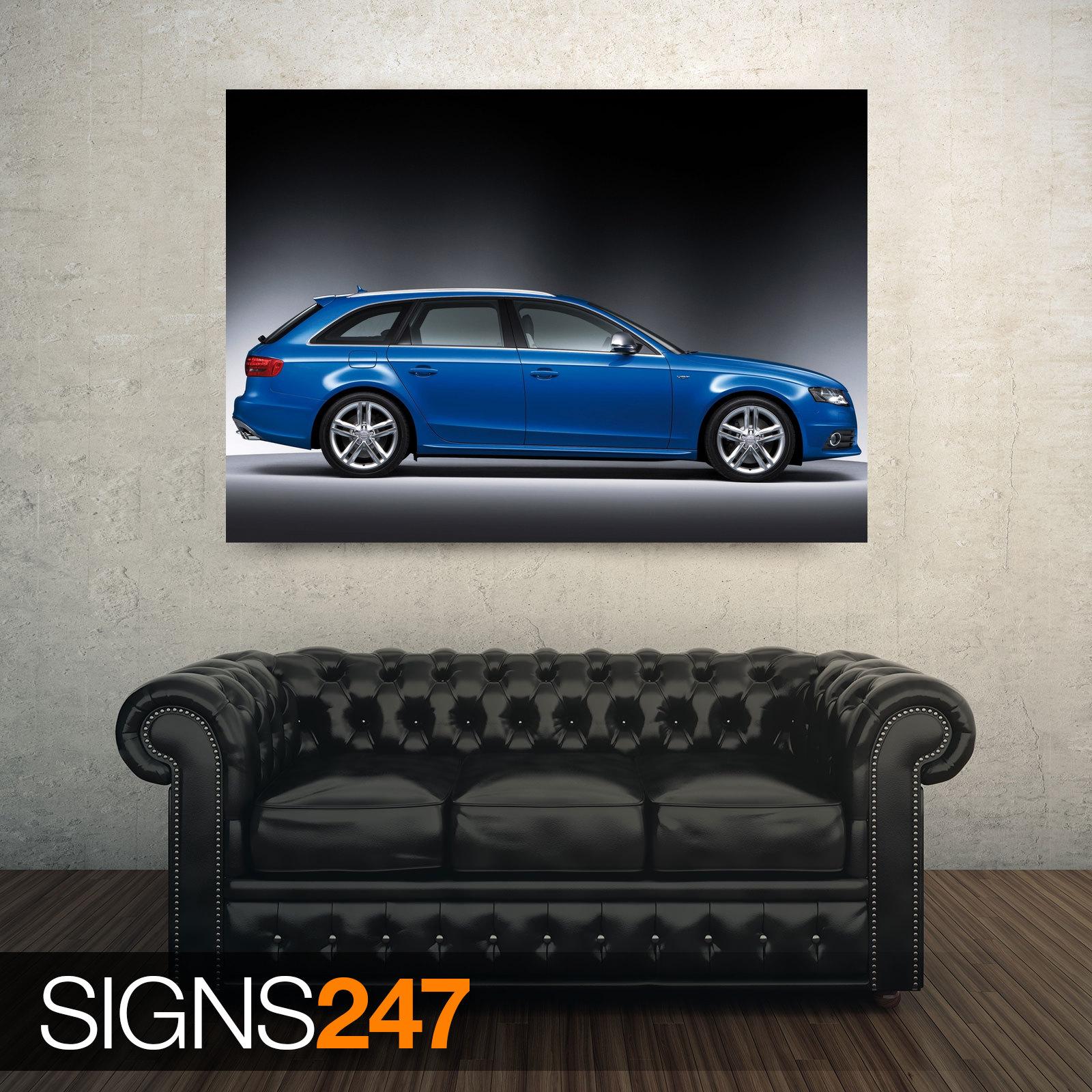 AUDI S4 AVANT CAR 4 (AC993) CAR POSTER