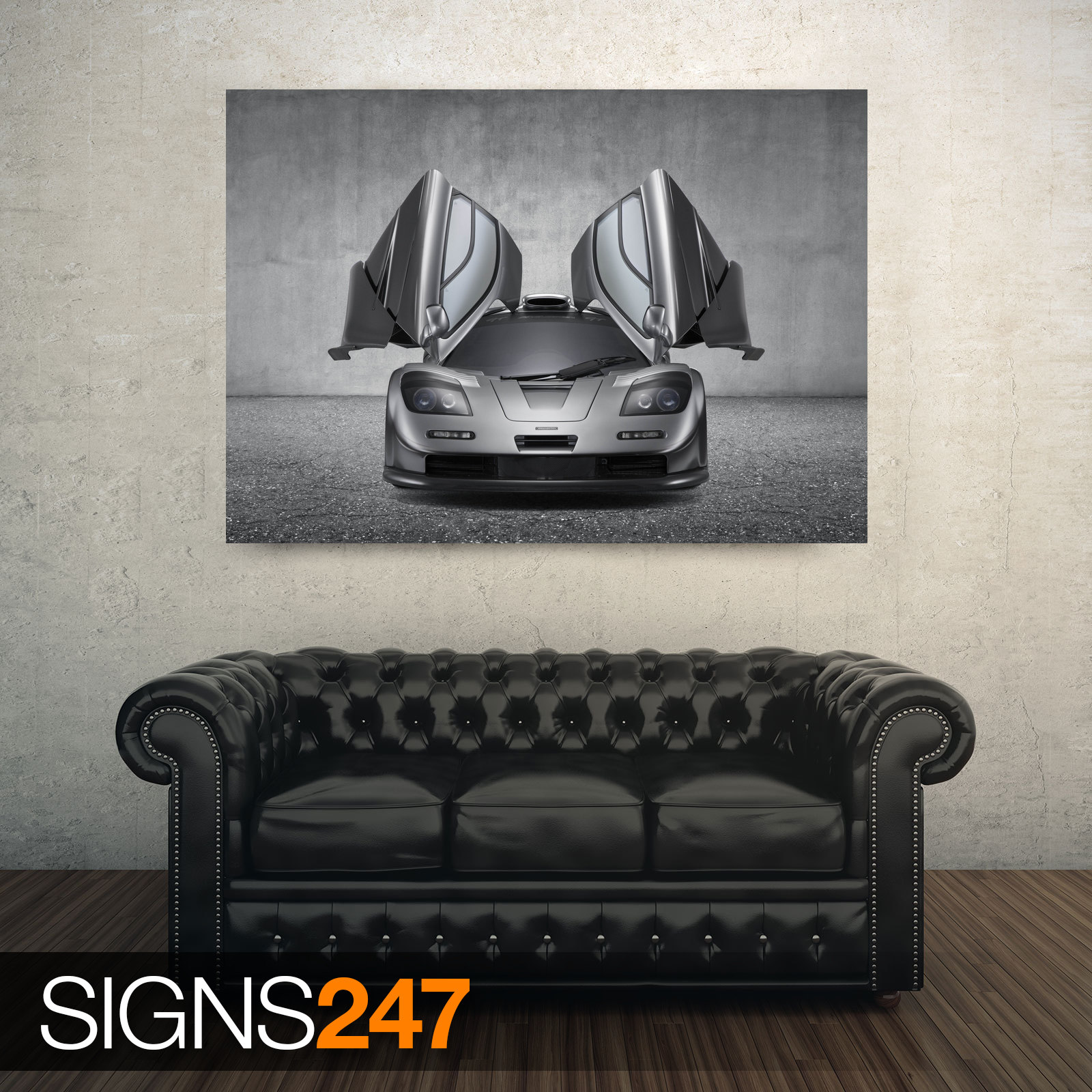 MCLAREN-F1-GT-SUPERCAR-AD746-CAR-POSTER-Photo-Poster-Print-Art-All-Sizes