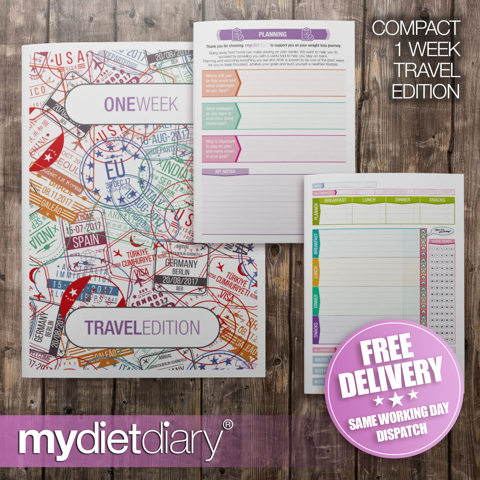 WEIGHT-WATCHERS-COMPATIBLE-DIARY-All-About-Cakes-W023W-12wk-diet-weight-loss