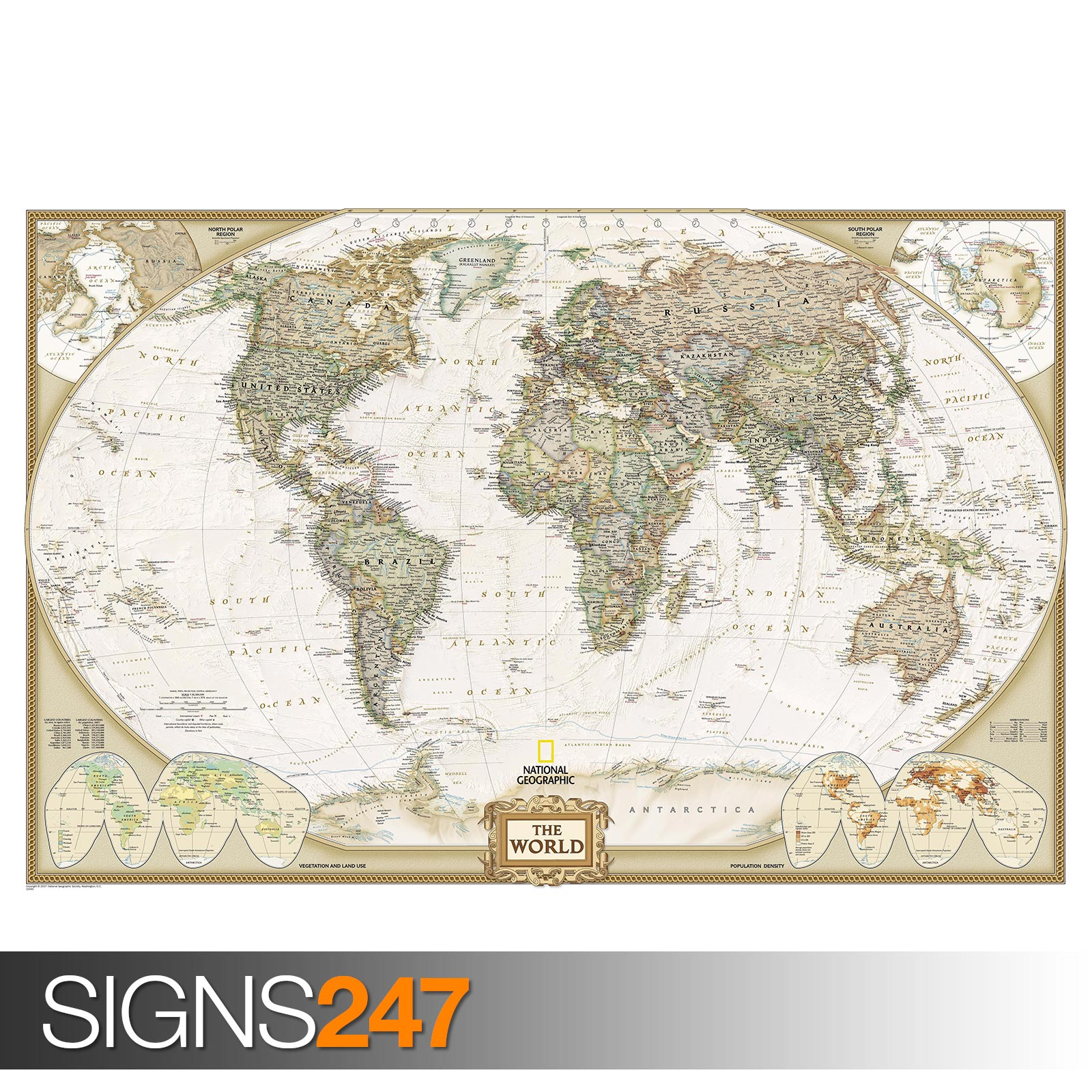 carte du monde de g ant 1011 photo poster print art a0 a1 a2 a3 a4 ebay. Black Bedroom Furniture Sets. Home Design Ideas
