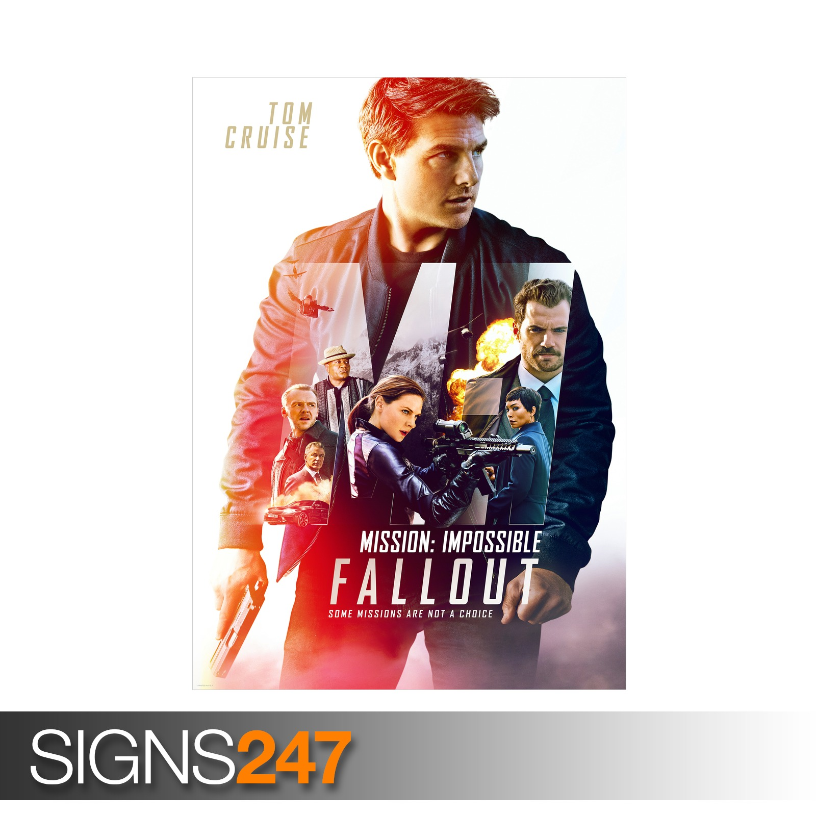 MISSION-IMPOSSIBLE-FALLOUT-TOM-CRUISE-ZZ034-MOVIE-POSTER-Poster-A0-A1-A2-A3