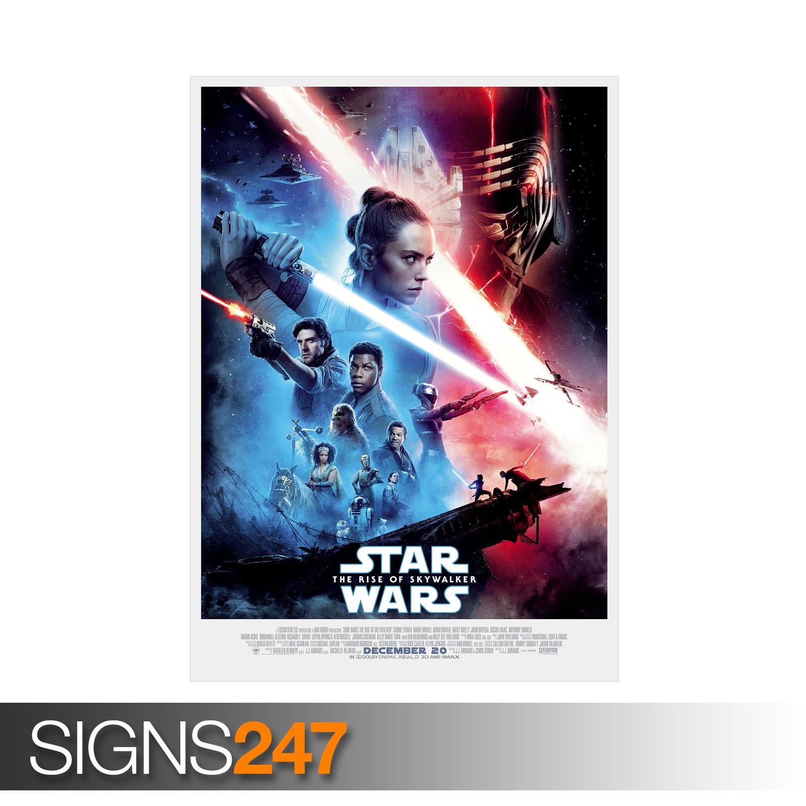 STAR-WARS-RISE-OF-SKYWALKER-POSTER-ZZ082-MOVIE-POSTER-Photo-Poster-Print-Art