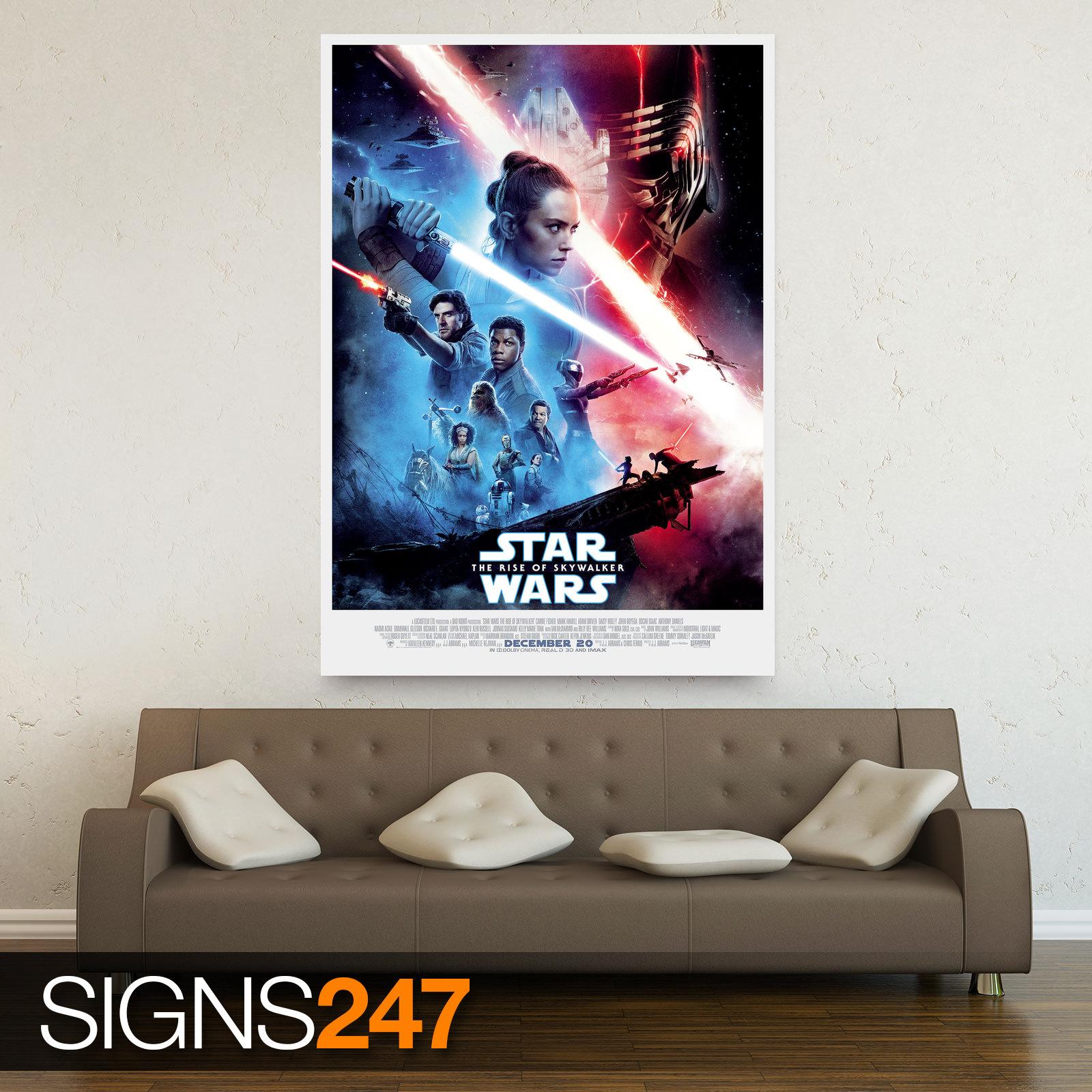 STAR-WARS-RISE-OF-SKYWALKER-POSTER-ZZ082-MOVIE-POSTER-Photo-Poster-Print-Art thumbnail 2